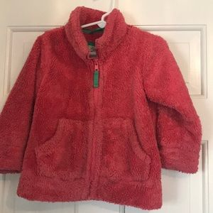 Mini Boden zip up fleece